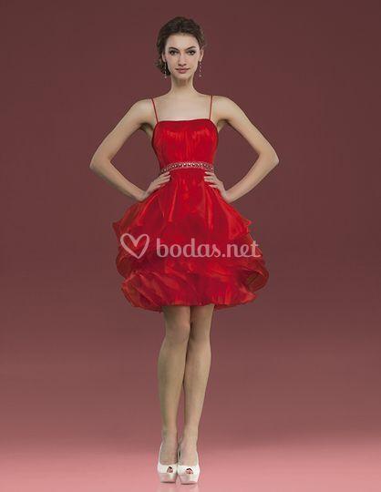 Vestido corto - Couture Club 2014