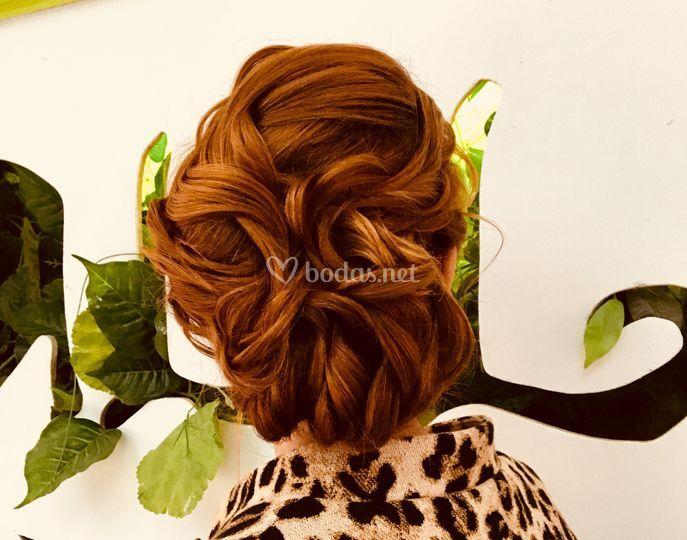 Peinados de madrina y damas