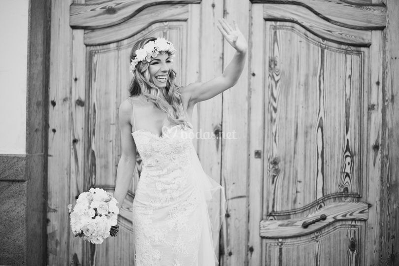 Saludo de novia