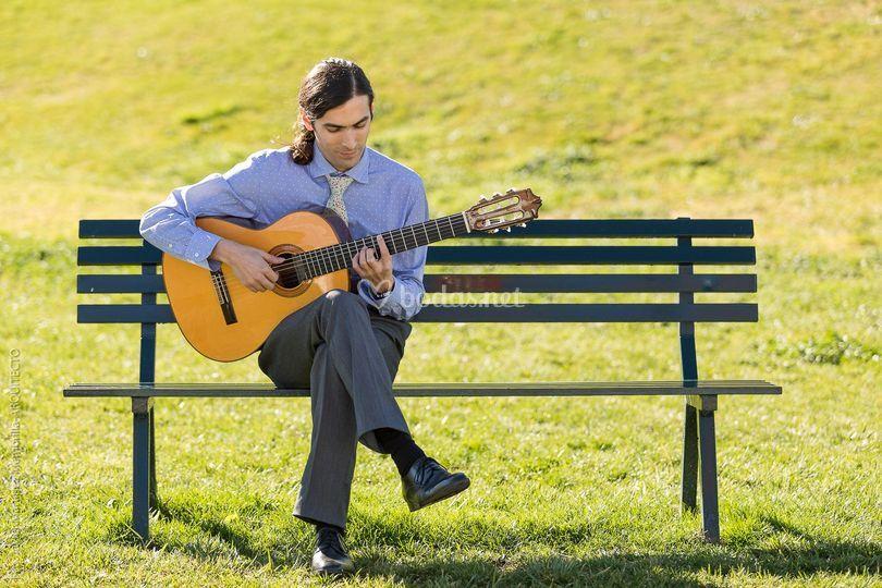Guitarra para la boda