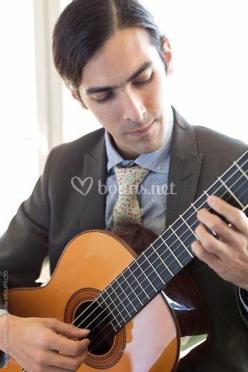 Guitarrista en Málaga