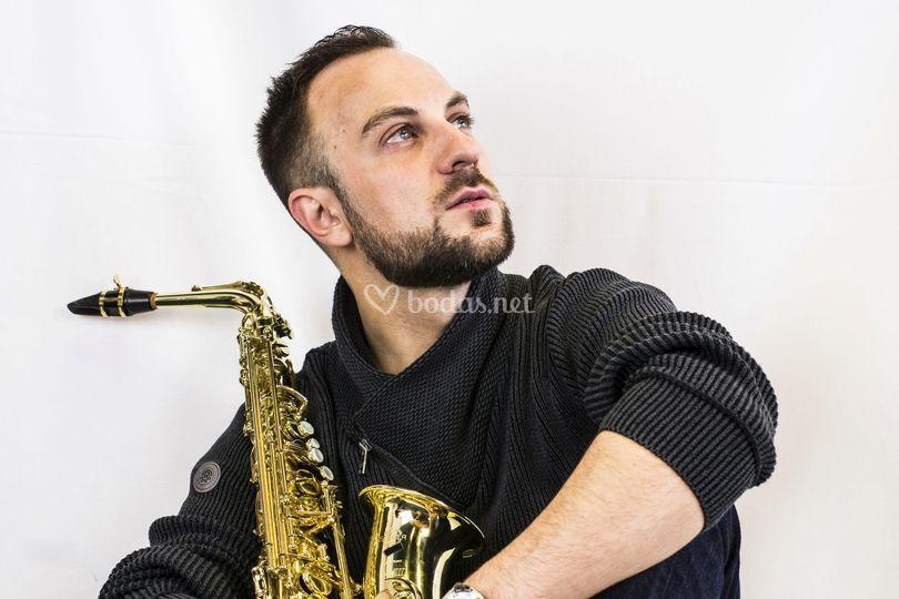 J García Sax Live