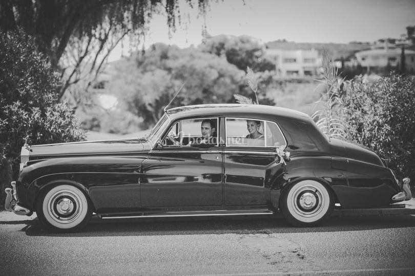 Rolls royce silver cloud 1958