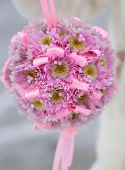 Esferas de flores