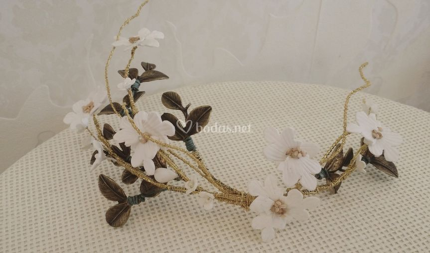 Tocado floral
