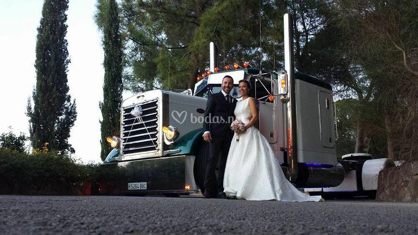 Carlet de Camiones Americanos
