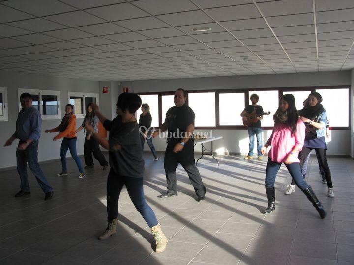 Ensayo del flashmob