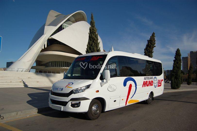 Microbus 26 Plazas VIP