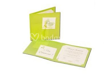 Invitaciones de boda de distintos colores