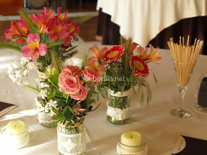 Arreglos con flores