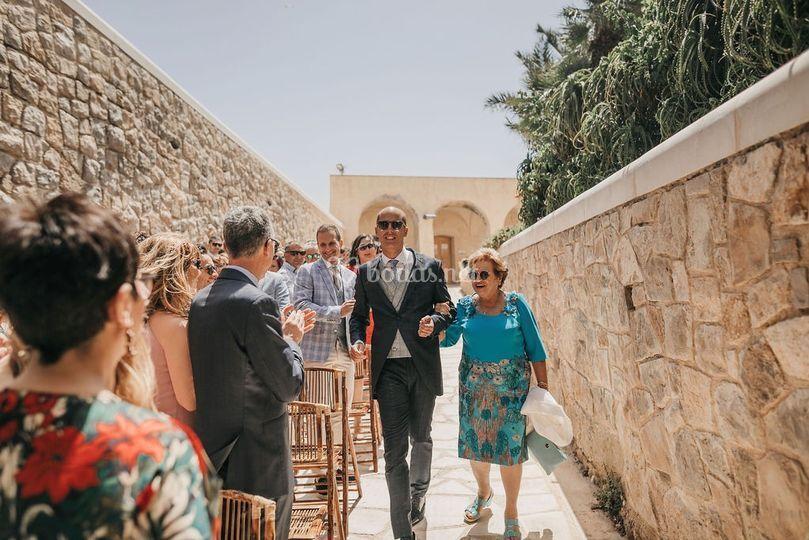 Ceremonia en Tabarca