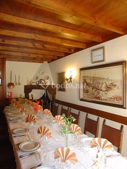 Salón privado castellano