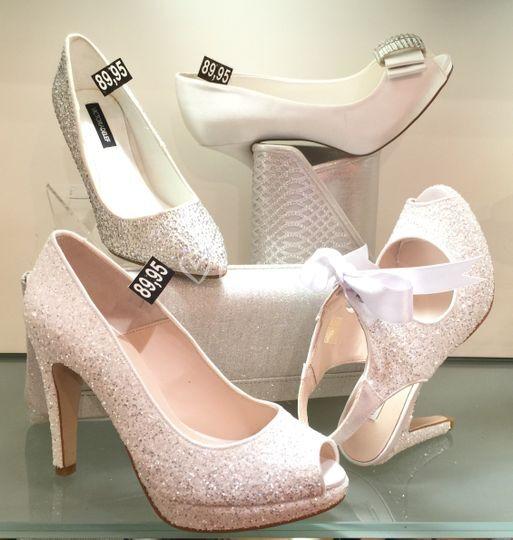 Glitter y cristales novia