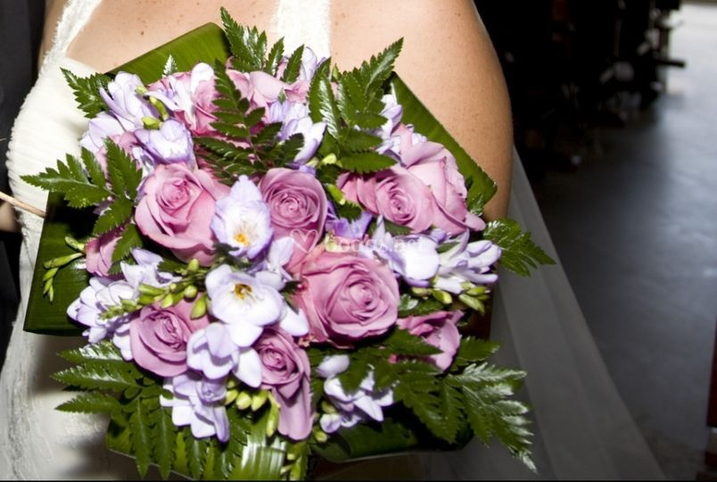 Bouquet malva