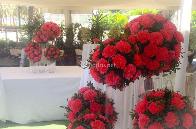 Decoración boda Puerto Delicia