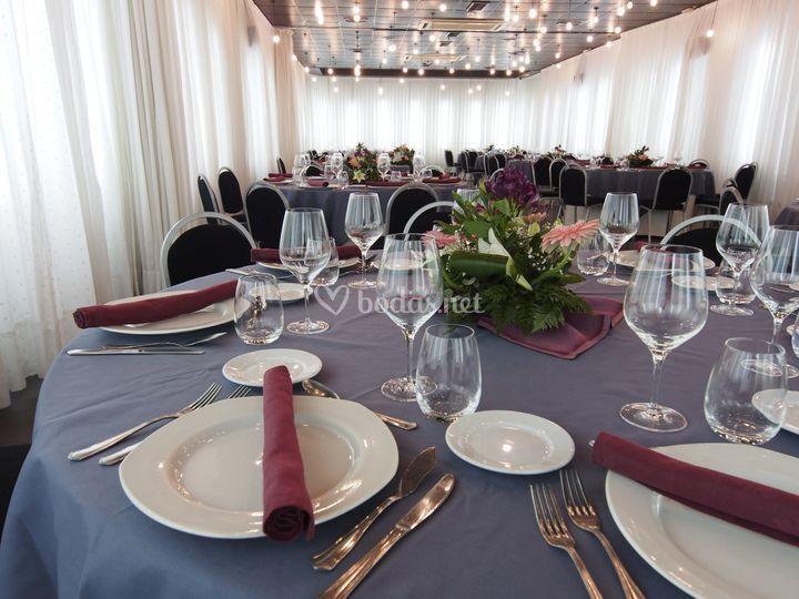 El Foro -Banquetes Detalle I-