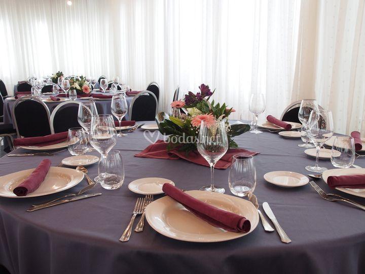 El Foro -Banquetes Detalle II-