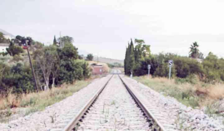 Novia vía tren