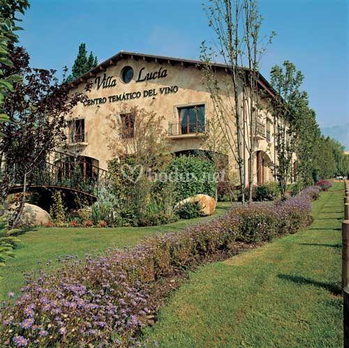 Fachada Villa Lucía