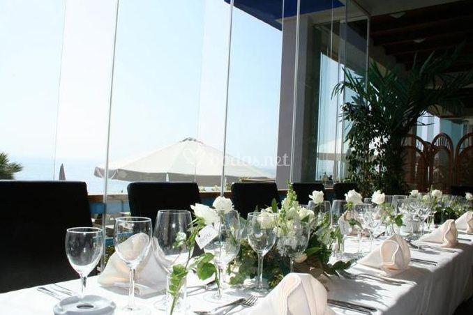Mesa para los invitados