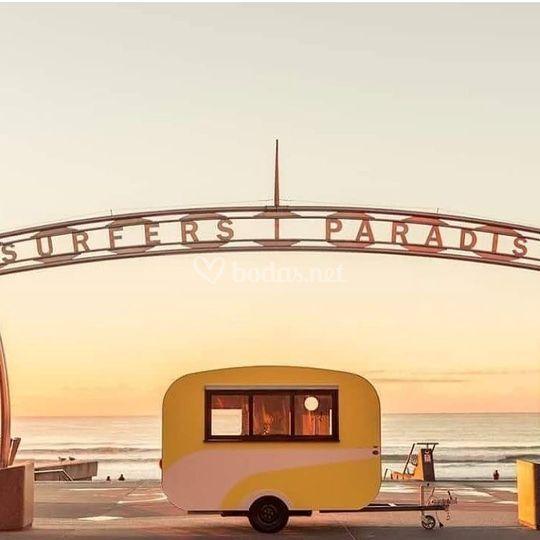 Caravana vintage bar