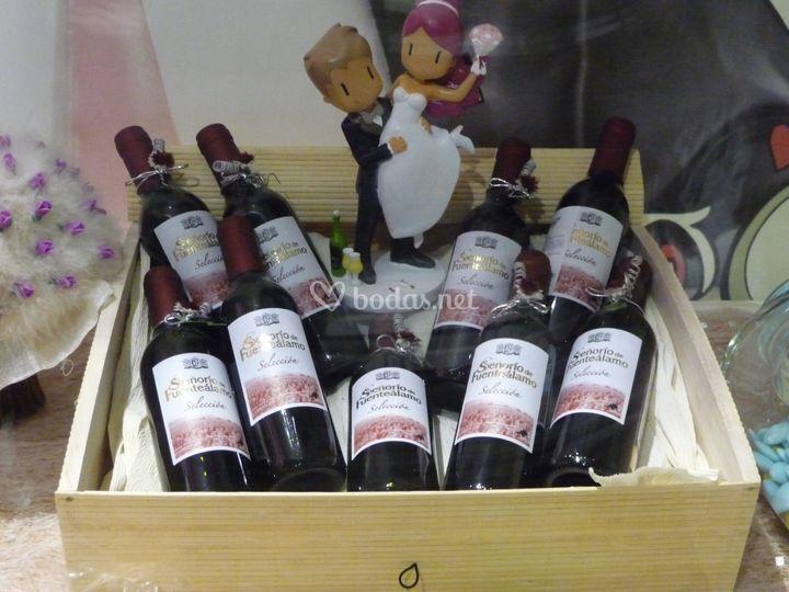 Presentación vino
