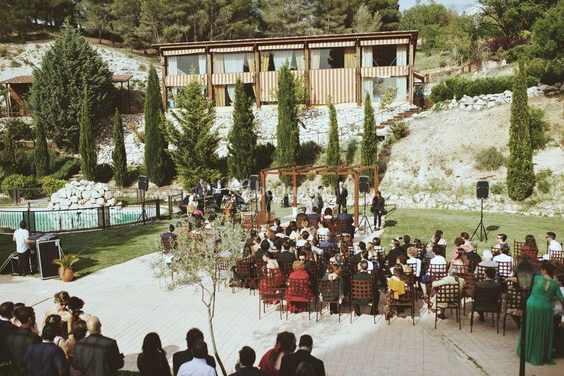 Ceremonia en finca