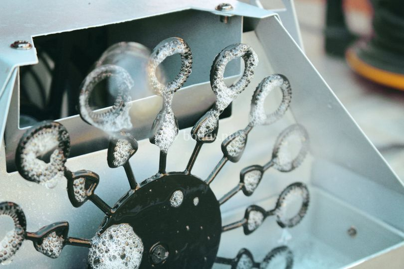 Máquina de burbujas (material)