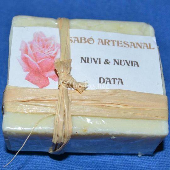 Jabón envoltorio personalizado