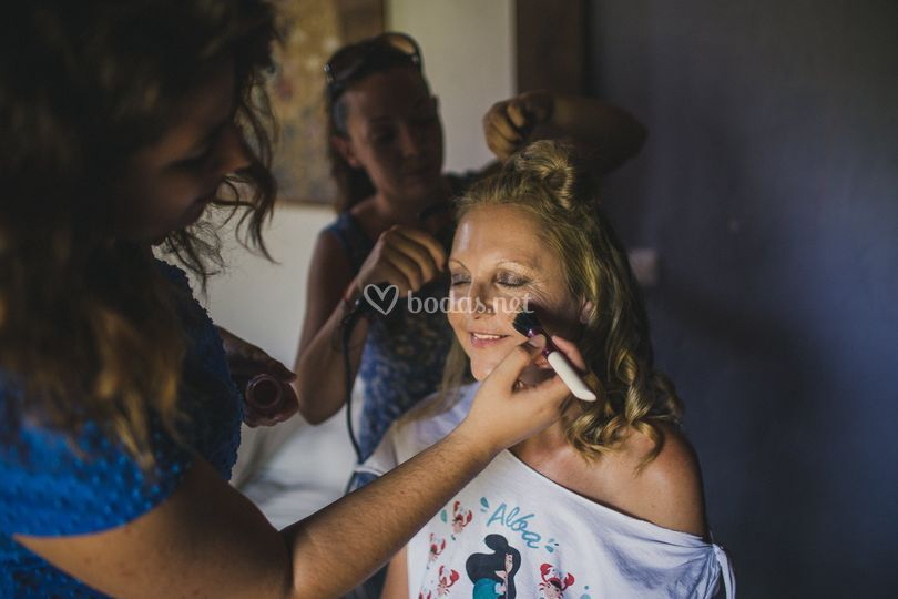Makeup/Hair Alba 2015