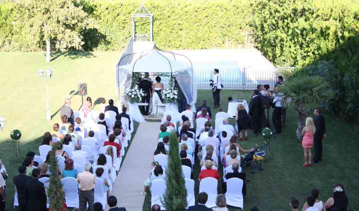 Jardines para ceremonia