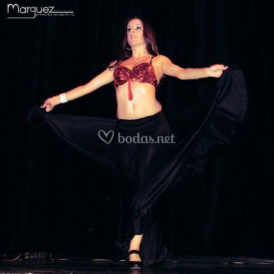 Danza fusión flamenco