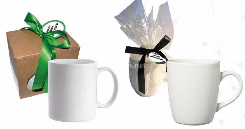 Opciones de taza y embalaje
