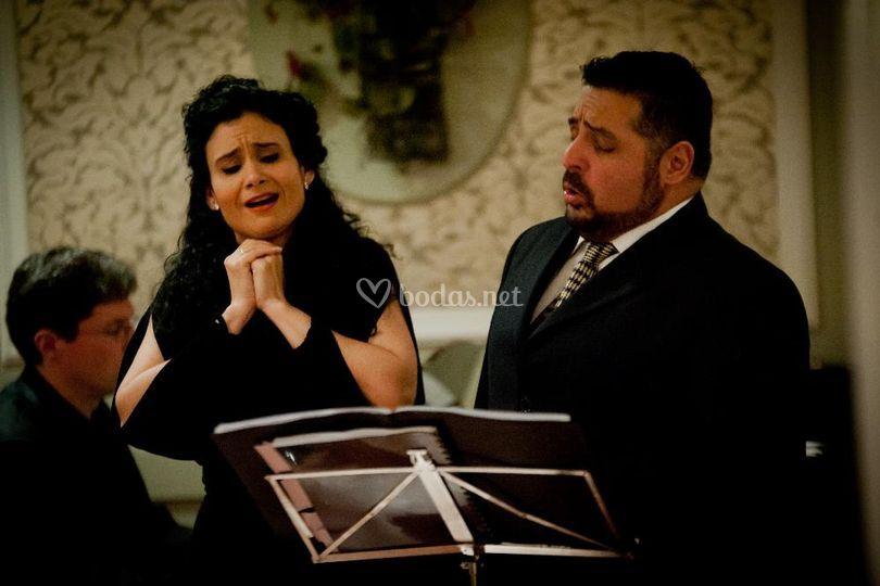 Dúo soprano y tenor