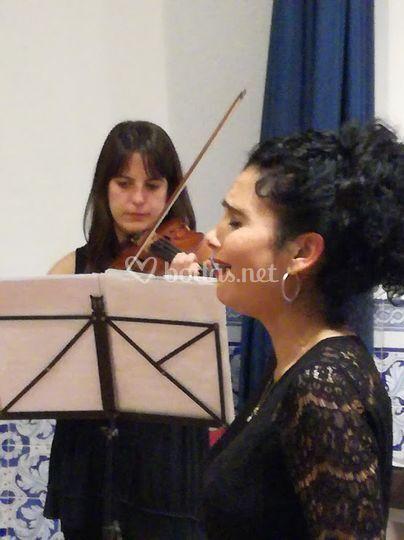 Violín y soprano