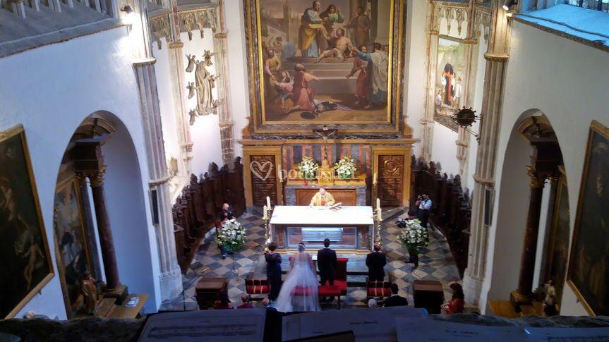 Catedral de Toledo, Ceremonia