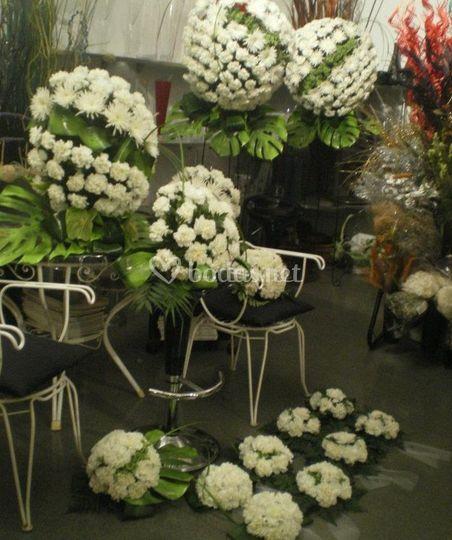 Decoraciones con flores