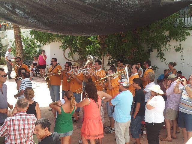 Fiestas en barriadas