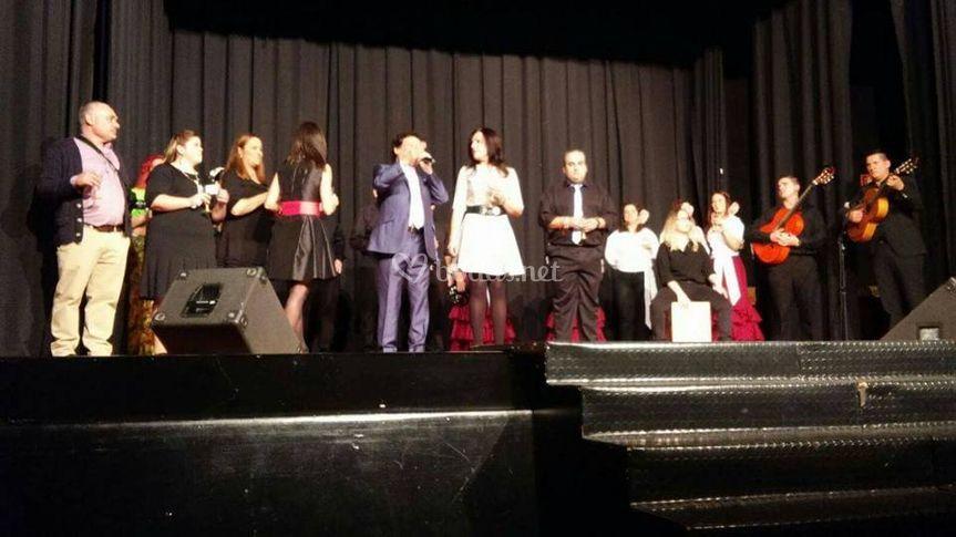 Actuación con Alejandro Conde