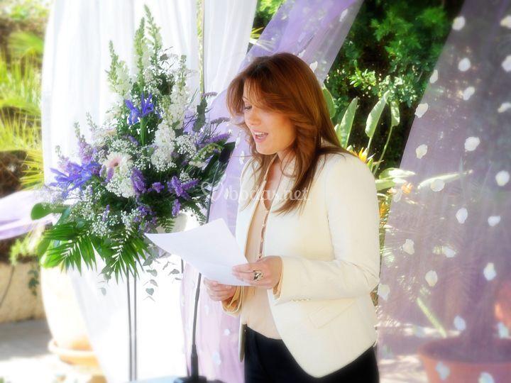 Maestra de ceremonias