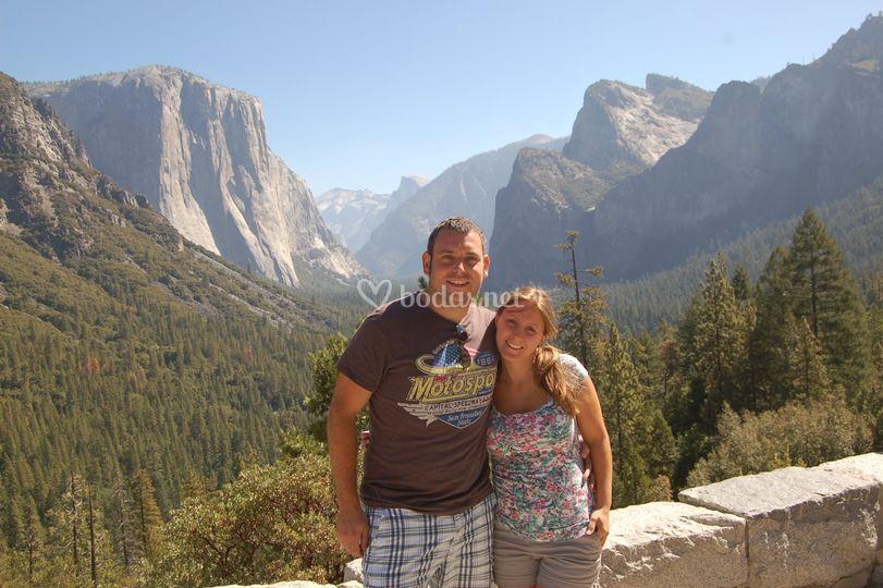 P.N Yosemite - Antonio y Tere