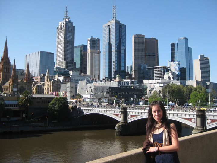 Melbourne - Maria y Cristian
