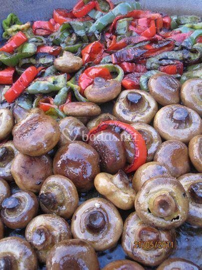 Menús vegetarianos