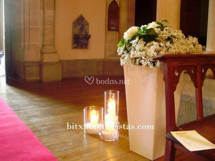 Decoración iglesia Salesas