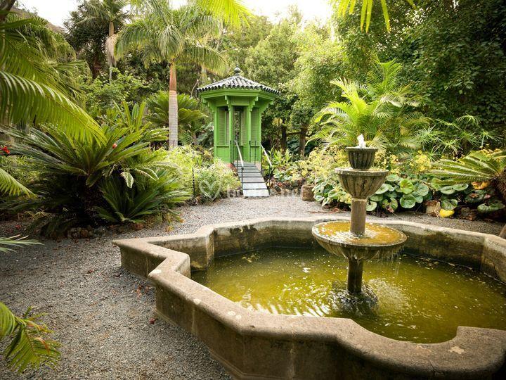 Exteriores del jardín