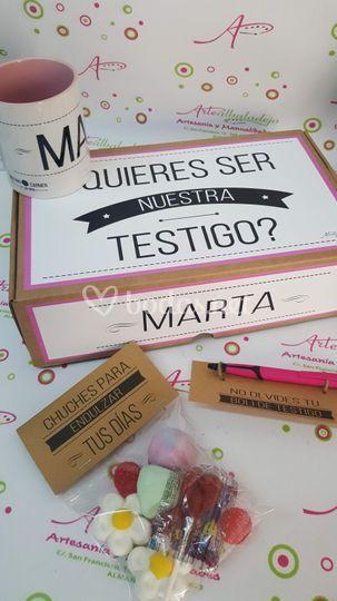 Kit testigo: Taza+boli+chuches