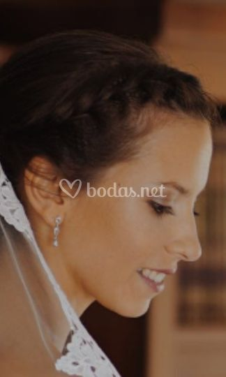 Maquillaje de novia en tonos suaves
