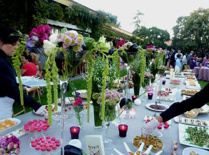 Fotos de bodas boda en jardin boda en benavento banquetes for Boda en jardin