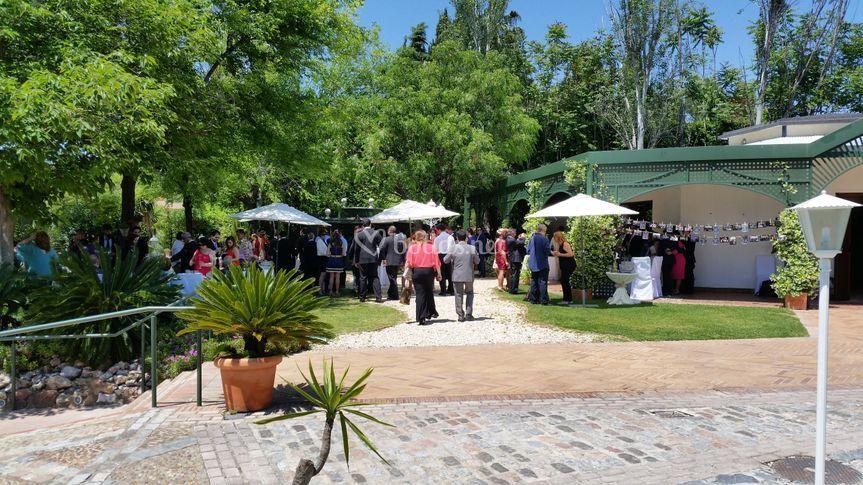 C ctel bienvenida de los jardines de sansue a foto 75 for Los jardines de sansuena