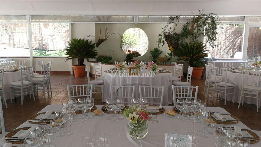 Detalle imperial sal n mirador de los jardines de sansue a for Los jardines de sansuena